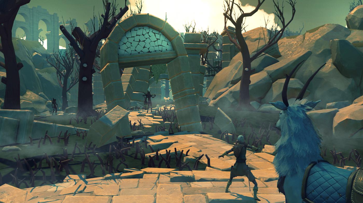 Decay of Logos : Un RPG d'action/aventure fantaisiste